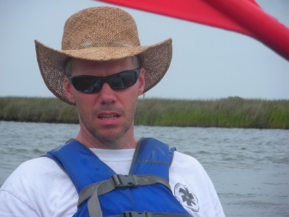 SuperDad kayak