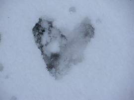 071 Heart in Snow