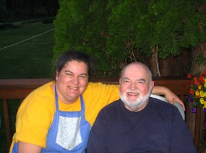Me and my dad, May 2008