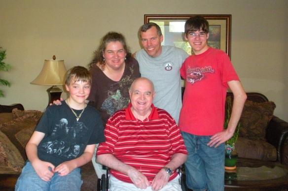 visiting Grandpa in Tucson