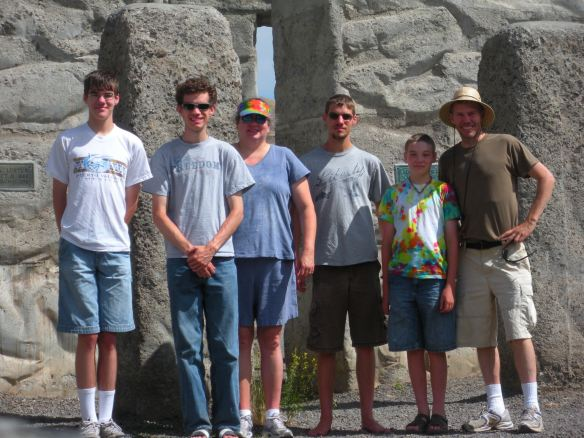 from left to right:  Humorous-Juniorous, MusicMan, *me*, Encyclopedia Blue, SnakeMaster, and SuperDad (June 2012)