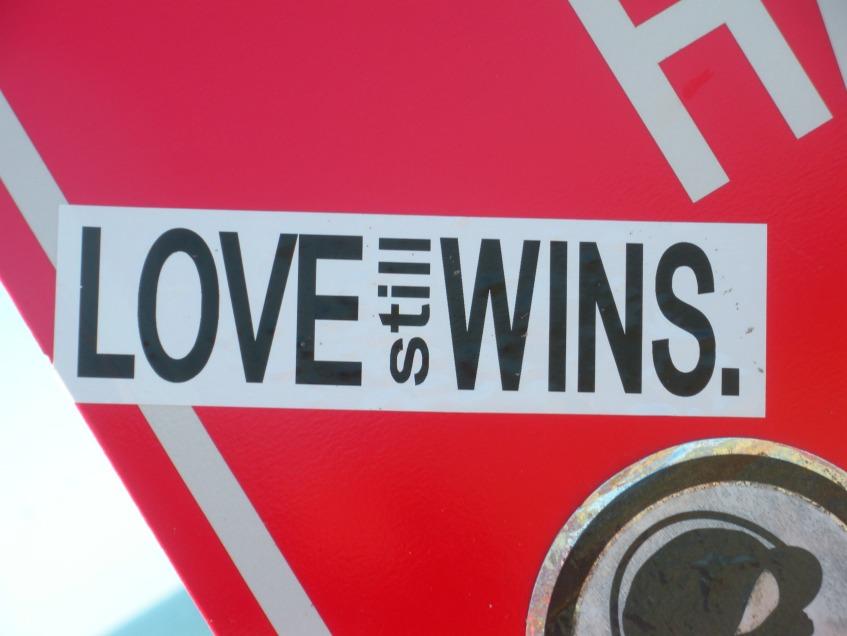 Love STILL wins