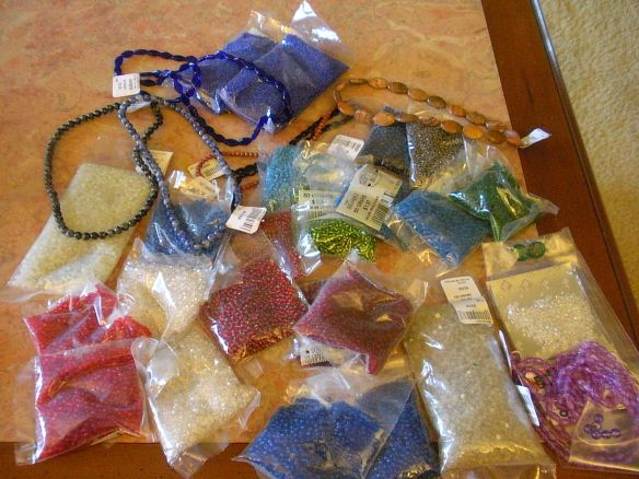 Vintage Venetian Seed beads, and more!