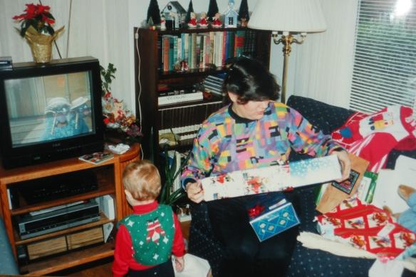 DSCN8540  TWT, Christmas 1993 cropped copy