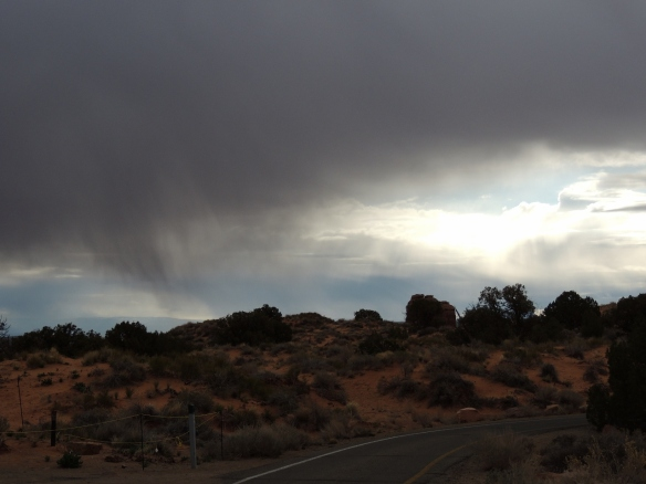 springtime desert storms