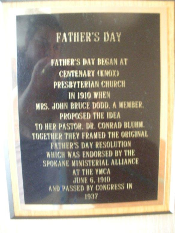 Commemorative Father's Day Plaque