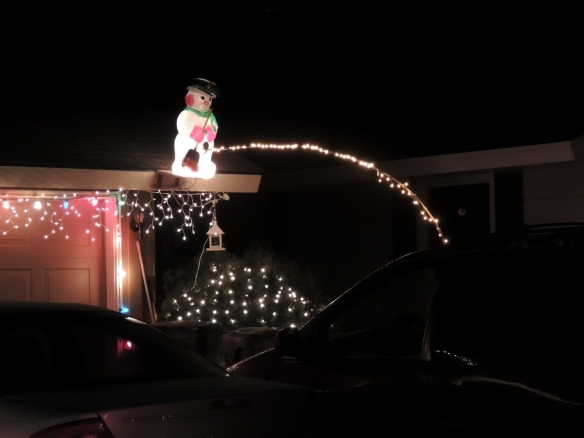 I'm not sure if the owner here is trying to p!ss off a neighbor or if perhaps they just have a questionable sense of humor.