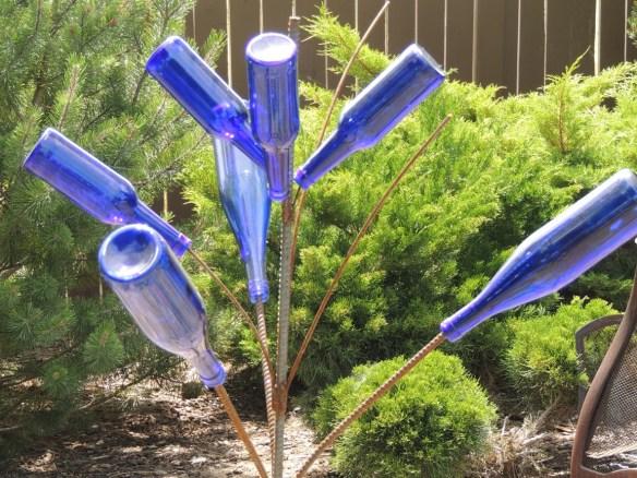My bottle tree