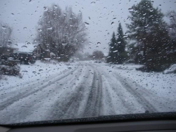 Snow had fallen [snow on snow] -- rain on sleet on snow...