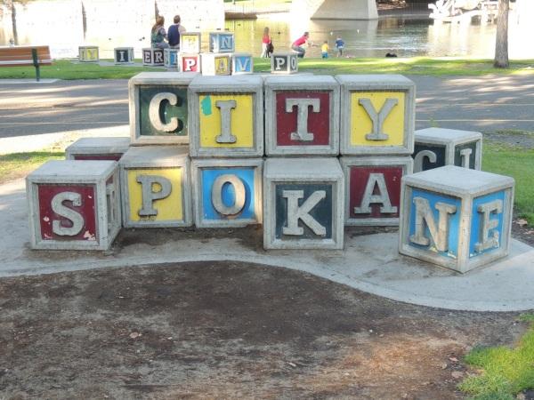 Riverfront Park, City of Spokane blocks