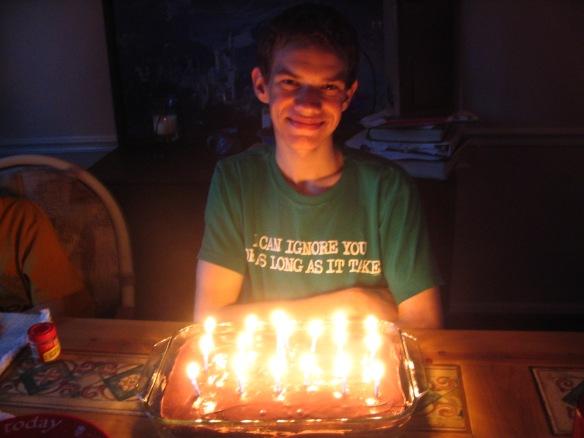 MM's 17th birthday