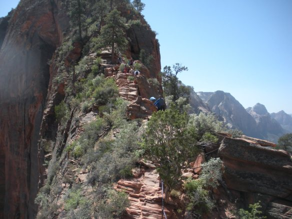 Angel's Landing hike at Zion National Park