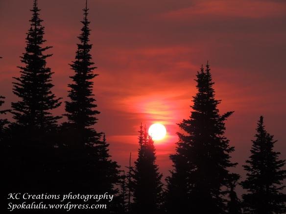 Mt. Spokane sunset