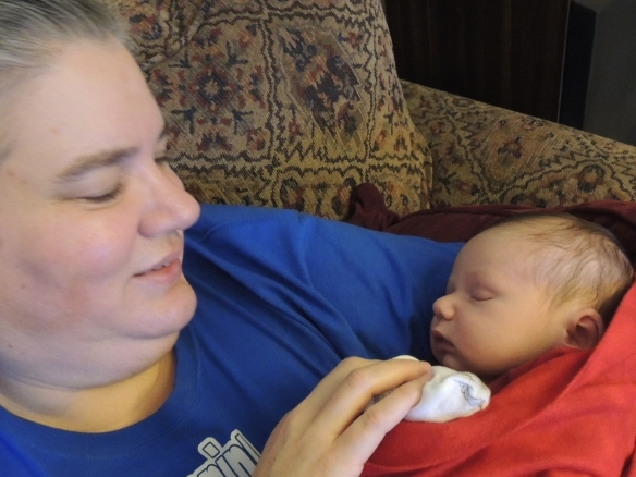 Grandma''s 2-hour snuggle with Litle Foot (websized)