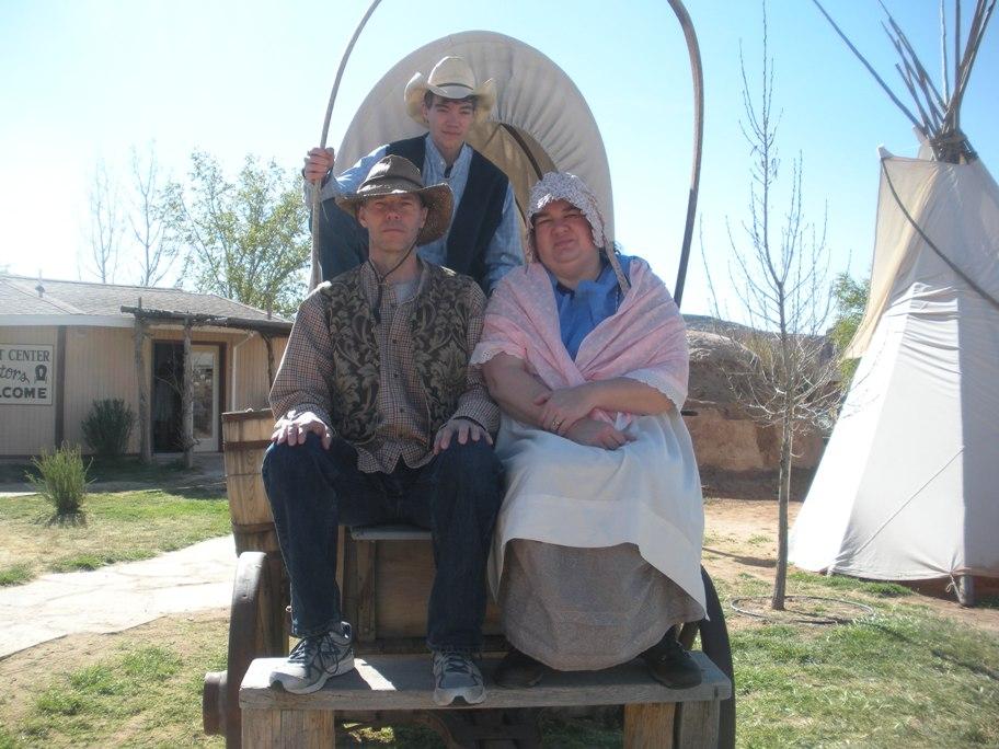 DSCN2468  Mormon Pioneer family, Bluff, UT resized