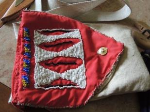 hand-sewn hunting bag