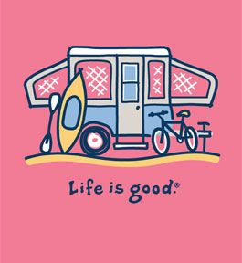 Life is Good Camping image