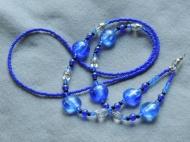 cobalt blue lanyard