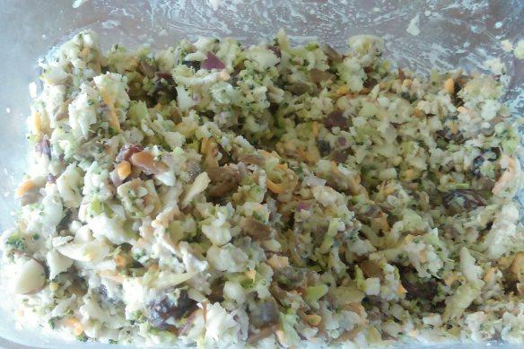 crunchie munchie salad