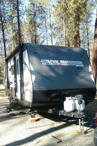 Trail Runner 21-foot trailer from AFB, camping at Riverside State Park, WEBSIZED