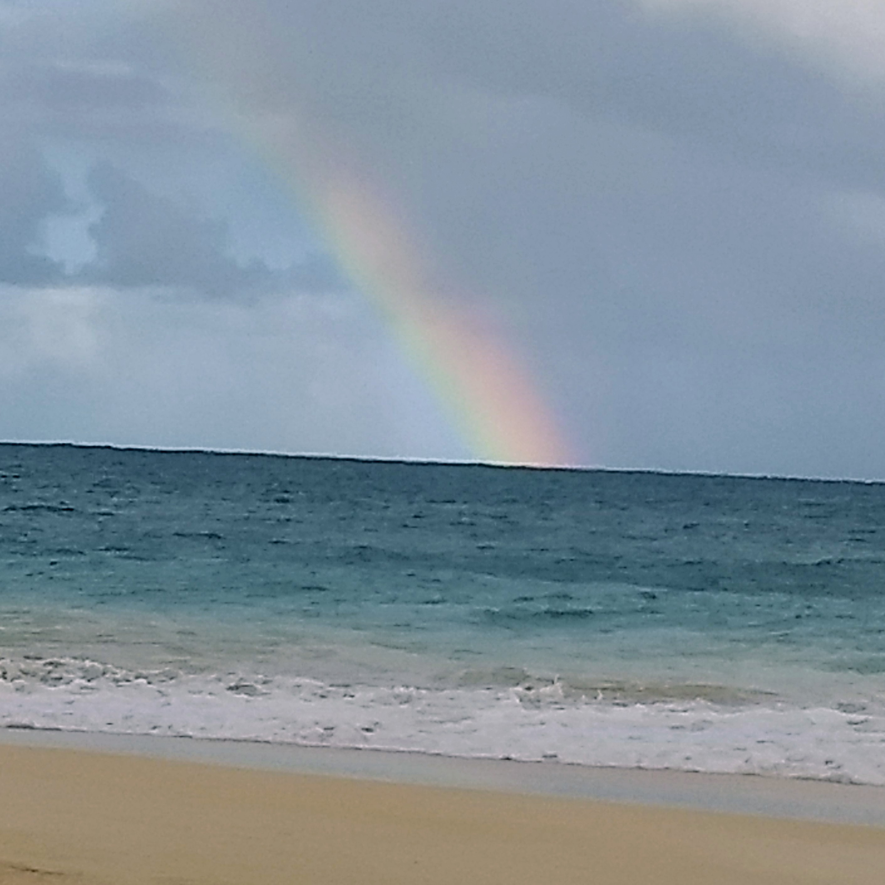 Bellows Beach Rainbow